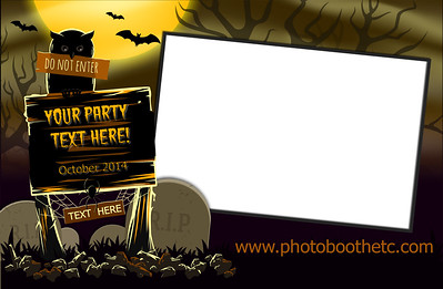 Halloween 4x6 Tombstone