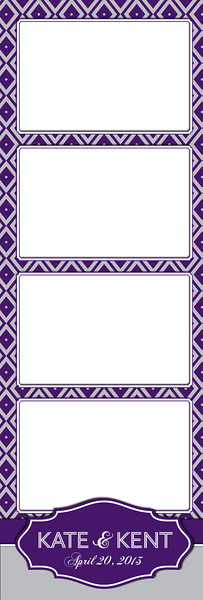 Purple Diamonds 4UP