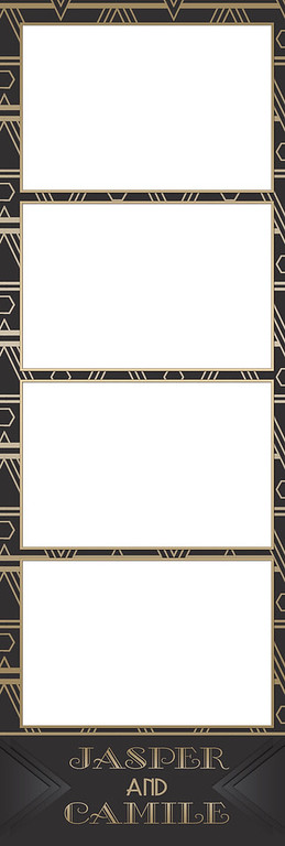 Art Deco Gold 4UP