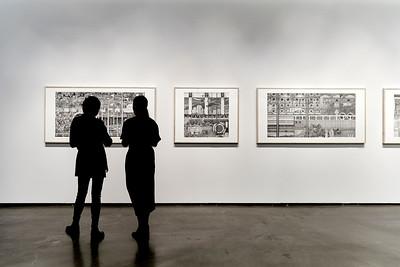 LA PRÉCISION DU VAGUE_Vernissage_CENTRE DE DESIGN DE L'UQAM_2019_© Benoit Rousseau_10