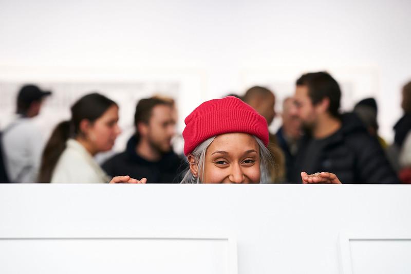 LA PRÉCISION DU VAGUE_Vernissage_CENTRE DE DESIGN DE L'UQAM_2019_© Benoit Rousseau_28