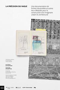 La précision du vague_Centre de design_2019_Affiches promotionnelles_19-01-23