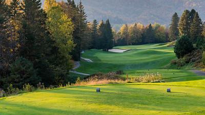 Mont Tremblant, Quebec - October 9 -  Club De Golf Le Maitre at Golf Le Maitre (Photo par:  Gary Yee)