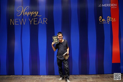 Le Méridien Saigon | Count Down Party 2021 instant print photo booth | Chụp hình in ảnh lấy liền tiệc Count Down tại TP Hồ Chí Minh | WefieBox Photobooth Vietnam