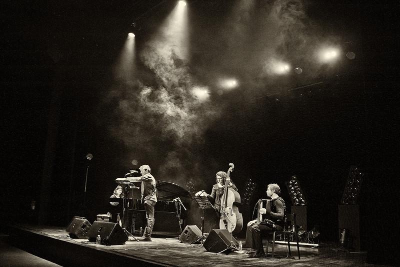PLAQUETTE DE PRÉSENTATION D'UN TOUR DE CHANT EN 1980 - Allain Leprest