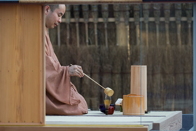 The Glass Tea House Mondrian©Hiroshi Sugimoto+New Material Research LaboratoryCourtesy: Le Stanze del Vetro (Fondazione Giorgio Cini and Pentagram Stiftung).Sponsored by Sumitomo Forestry and Fondazione Bisazza.