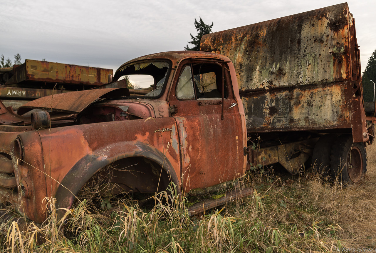 1956 Dodge Gar Wood Load Packer