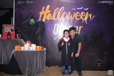 Le Meriden Saigon | Halloween Party 2020 instant print photo booth @ Latest Recipes Restaurant | Chụp hình in ảnh lấy liền Halloween tại Tp Hồ Chí Minh | Saigon Photobooth