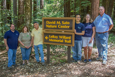 LeRoy Willard Trail Dedication