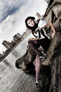 Location: New York Photographer: Angela Halpin www.lensload.com Fashion Designer: Claire O Connor