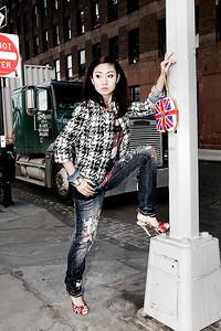 Location: New York Photographer: Angela Halpin www.lensload.com Fashion Designer: Claire O Connor