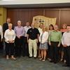 Bruce Aydt and members of the 2017 Leadership Program.