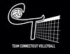 Team CT Volleyball Logo Design by Jarrod Viens