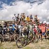 Fatty/Reba's Leadville Experience pre-ride, Columbine Mine [credit: Linda Guerrette]