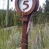 Mineral Belt Trail - 5 mile marker
