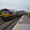 66162 6M48 Southampton E Docks - Halewood passing Leamington Spa