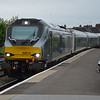 68013 pulls into Leamington Spa heading north