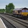 66140 4O21 Trafford Park - Southampton W Docks passes Leamington Spa