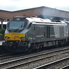 68010 powers out of Leamington Spa