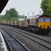 66154 6X01 Scunthorpe - Eastleigh passing Leamington Spa