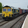 66502 4M55 Southampton - Lawley St passes Leamington Spa