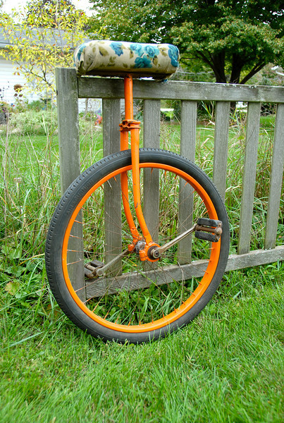 Old Unicycle