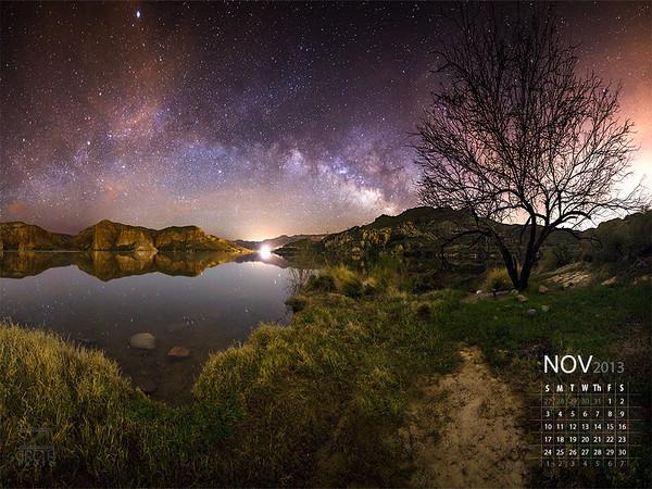 November - A Canyon Lake Morning