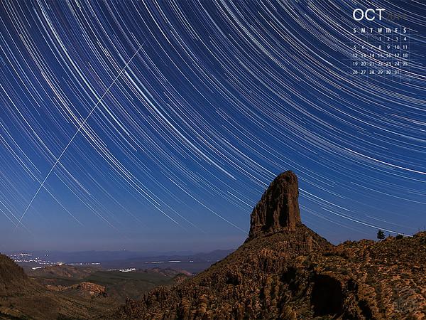 October - Weaver's Needle