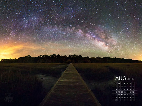 August - Hunting Island