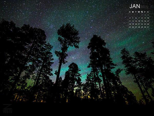 January - White Mountains