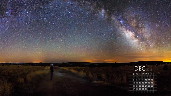 December - Contemplating the Cosmos