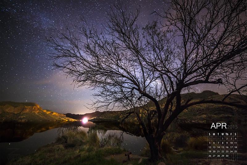 April - Canyon Lake