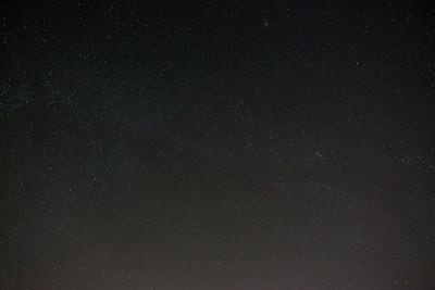 Overhead sky