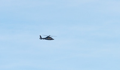 Helicopter: close shot