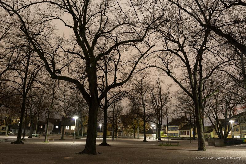 An empty park