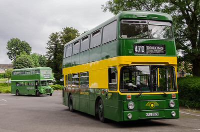 AN262 and RML2456 in Randalls Road car park, Leatherhead