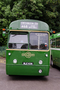 RF636 in Randalls Road car park, Leatherhead