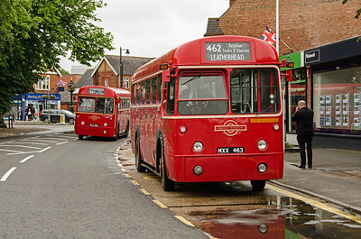 RF354 and RF486 in Between Streets, Cobham