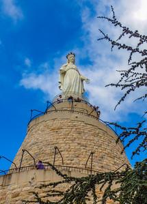 The lady of Lebanon