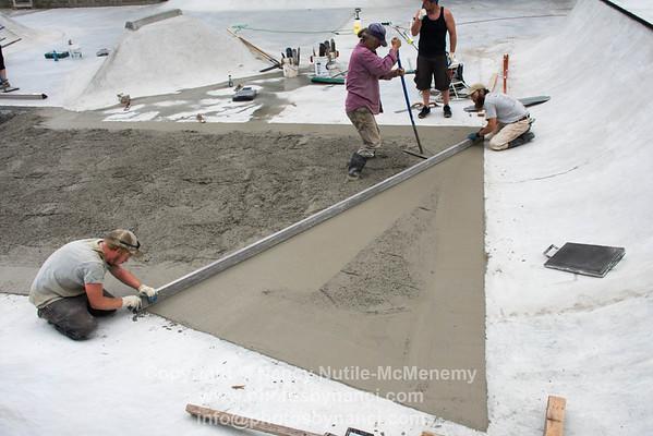 Concrete Surface Pour