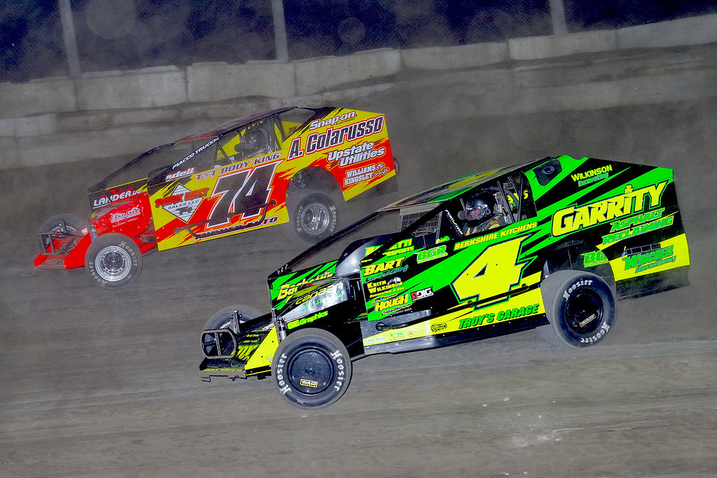 . Mod action Andy Bachetti #4 & JR Heffner #74 - Photos courtesy - Mark Brown/Ryan Karabin - Kustom Keepsakes For more photos/copies visit https//nepart.smugmug.com