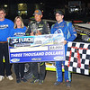 Mod winner Brett Hearn w/Flach Family (John, Liz & Keith)