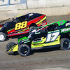 Smallblock mod action Andy Bachetti #17 & Olden Dwyer #88