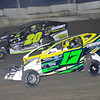 Mod action Rob Pitcher #17 & Brett Hearn #20