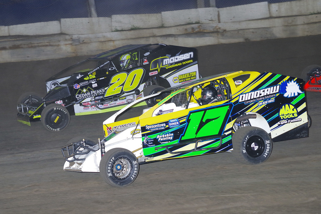 . Mod action Rob Pitcher #17 & Brett Hearn #20 - Photos courtesy - Mark Brown/Ryan Karabin - Kustom Keepsakes For more photos/copies visit https//nepart.smugmug.com