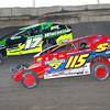 "Smallblock mod action Kenny Tremont #115 & Andy Bachetti #17 at Lebanon Valley Speedway. Photos courtesy Kustom Keepsakes Mark Brown and Ryan Karabin. For reprints and more visit <a href=""https://nepart.smugmug.com"">https://nepart.smugmug.com</a>"