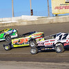 "Mod action Elmo Reckner #17Steve Hough #34 & Rob Pitcher #17 at Lebanon Valley Speedway. Photos courtesy Kustom Keepsakes Mark Brown and Ryan Karabin. For reprints and more visit <a href=""https://nepart.smugmug.com"">https://nepart.smugmug.com</a>"