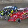 "Smallblock mod action Ray Hall Jr #72 & Brandon Pitcher #17 at Lebanon Valley Speedway. Photos courtesy Kustom Keepsakes Mark Brown and Ryan Karabin. For reprints and more visit <a href=""https://nepart.smugmug.com"">https://nepart.smugmug.com</a>"