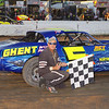 "Pure Stock winner Jeff Meltz Sr #5 at Lebanon Valley Speedway. Photos courtesy Kustom Keepsakes Mark Brown and Ryan Karabin. For reprints and more visit <a href=""https://nepart.smugmug.com"">https://nepart.smugmug.com</a>"