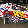 "Mod winner Eddie Marshall #98 at Lebanon Valley Speedway. Photos courtesy Kustom Keepsakes Mark Brown and Ryan Karabin. For reprints and more visit <a href=""https://nepart.smugmug.com"">https://nepart.smugmug.com</a>"
